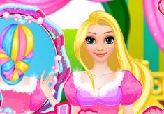 Для девочек прически игры играть рапунцель