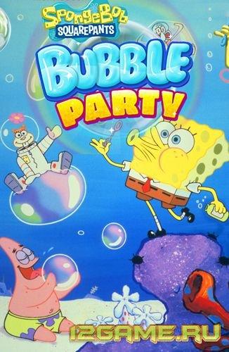 Игра Спанч Боб в мире пузырей 2