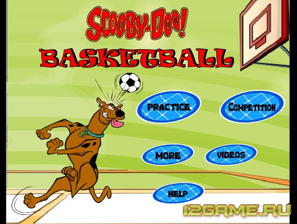 Игра Скуби Ду баскетбол