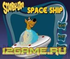 Игра Скуби Ду космический корабль 2