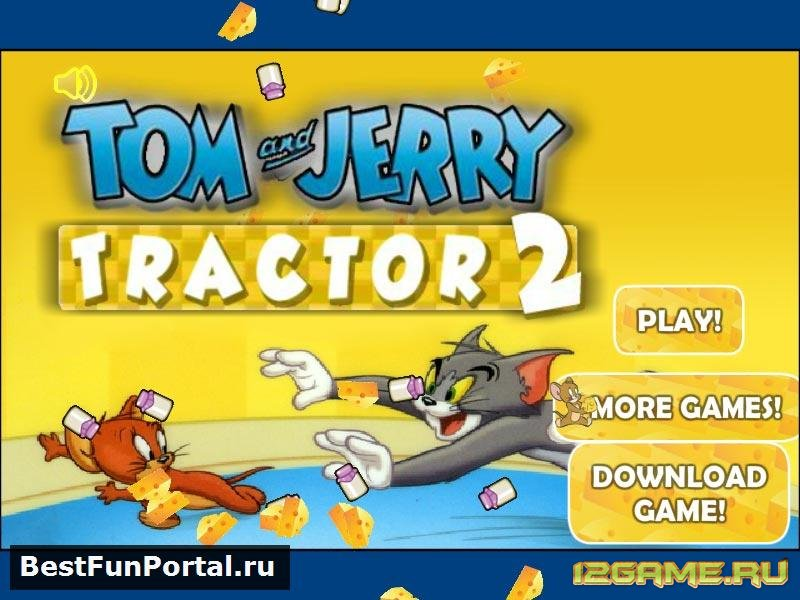 Игра Том и Джерри: Трактор 2