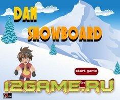 Игра Бакуган на сноуборде