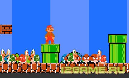 Игра супер Марио: волнение