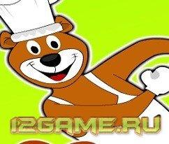Игра медведь на приготовление еды