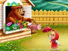 Игра Маша и медведь: на пикнике