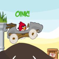 Игра злые птицы (Энгри Бердз) Месть машины