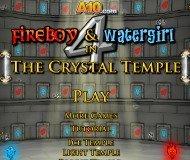 Игра Огонь и Вода 4: Хрустальный храм