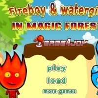 Игра Огонь и Вода в волшебном лесу