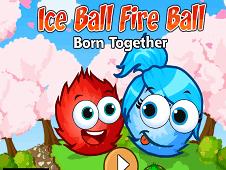 Игра Огонь и Вода: ледяной шар и огненный шар