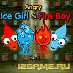 Игра злые Ледяная девочка и огненный мальчик