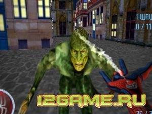 Игра Человек Паук ящер клон
