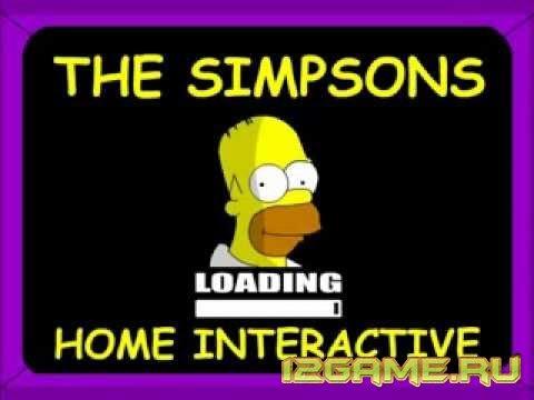 Игра Симпсоны дом