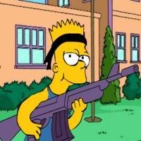 Игра Симпсоны Барт рулез