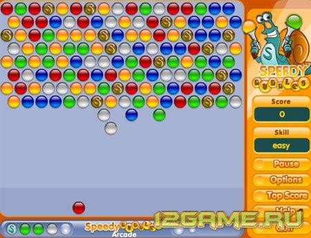 Игра Быстрые шарики онлайн
