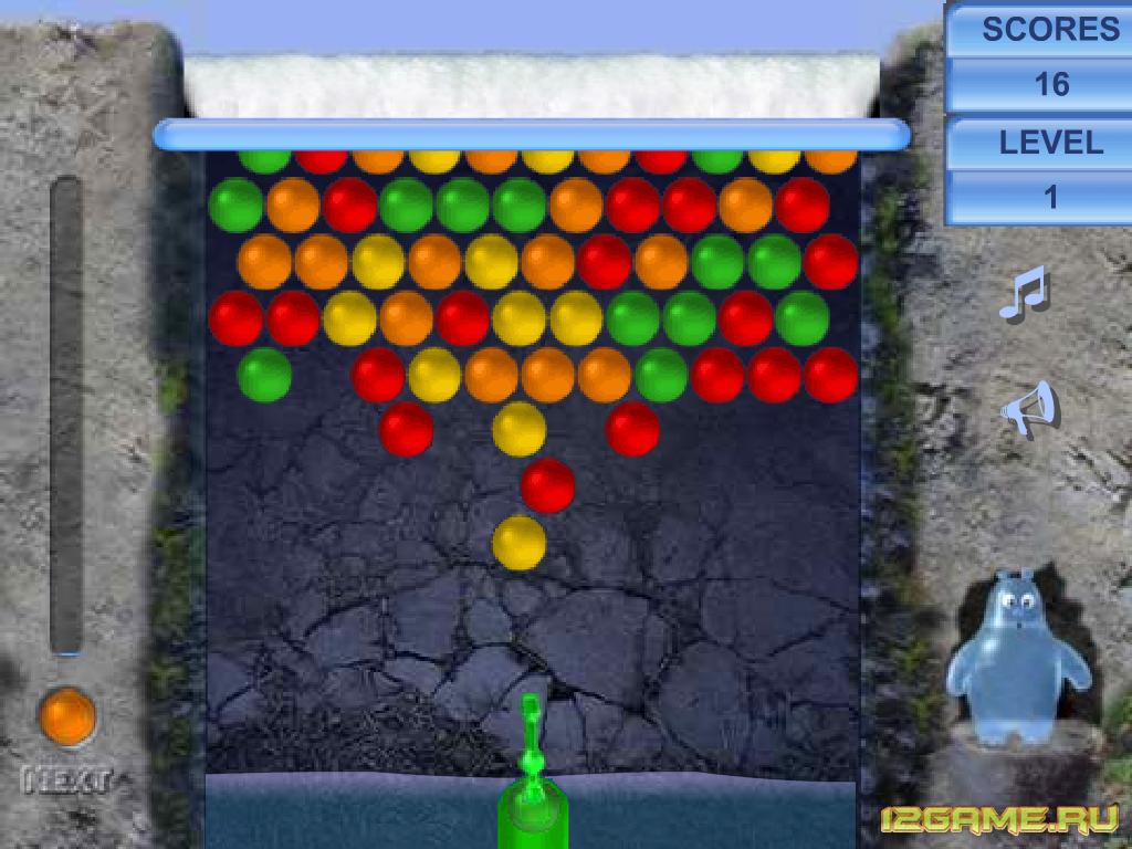Игра водяной пузырь
