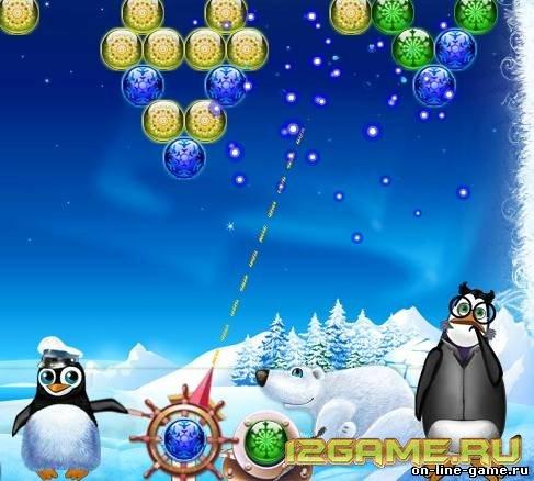Игра шарики Полярный фейерверк