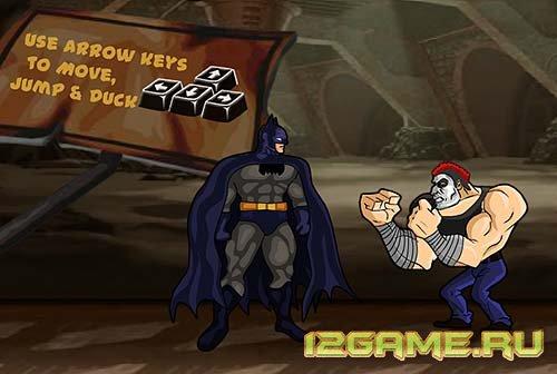 Игра Бэтмен защищает Готэм
