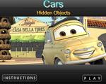 Игра Тачки скрытые объекты
