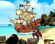 Игра пиратский Остров: скрытые объекты