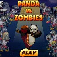 Игра Кунг фу Панда против зомби