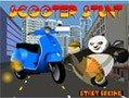 Игра Кунг фу Панда трюк скутера