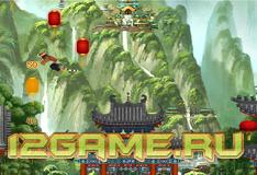 Игра Кунг фу Панда Тигрица прыжок