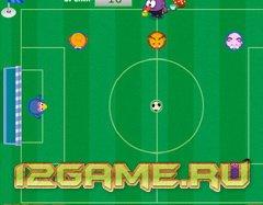 Игра Смешарики ленивый футбол