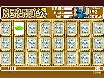 Игра Лило и Стич - карточки на память