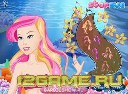 Игра Барби Русалка Сказка